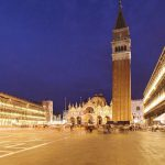 Piazza San Marco in the evening