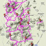 Cycle routes in the Euganean Hills
