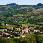 View of Teolo and the Euganean Hills