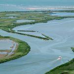 Veduta aerea Delta del Po