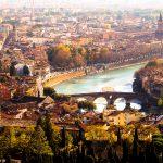 Verona - veduta aerea